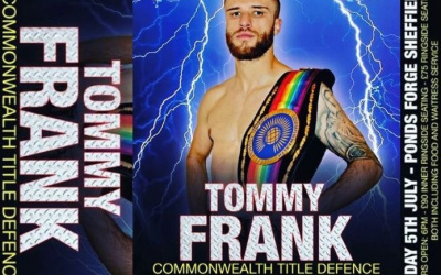 Tommy Frank IBF Commonwealth title defence