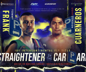 Glyn Rhodes rates Tommy Frank as the best professional he's ever trained hugo guarneros ibf title fight time date sheffield car park when start live stream links details betting odds oddschecker tv channel