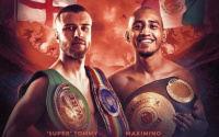 Tommy Frank vs Maximino Flores IBO world flyweight title Sheffield Dennis Hobson
