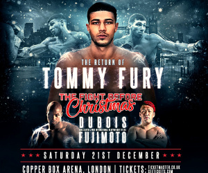 Tommy Fury is back