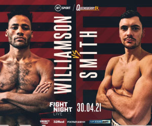 Troy Williamson insists he'll beat Kieran Smith to land British title shot against Ted Cheeseman boxrec fight time date tv channel who wins hamzah sheeraz amateur record