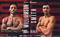 Troy Williamson vs Kieran Smith final eliminator the British welterweight title predictions fight time date tv channel oddschecker who wins and why tale of the tape frank warren bt sport