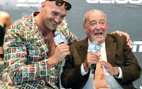 Bob Arum entertains Anthony Joshua vs Tyson Fury happening next
