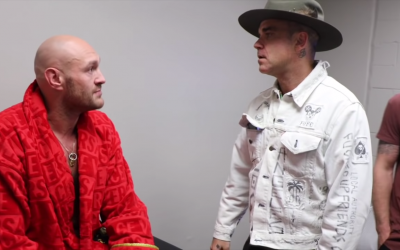 Tyson Fury and Robbie Williams song Christmas