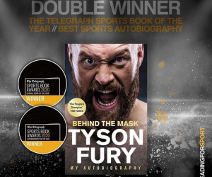Tyson Fury wins two awards for his autobiography