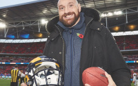 From boxing to WWE to NFL - Tyson Fury steals the show