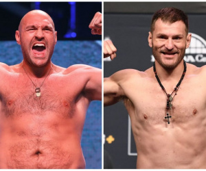 Tyson Fury vs UFC heavyweight champion Stipe Miocic