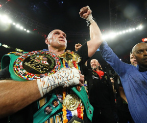 Tyson Fury WBC best heavyweight in the world