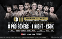 Ultimate Boxxer 3 fight time, date, TV channel, undercard, schedule, venue, betting odds and live stream details
