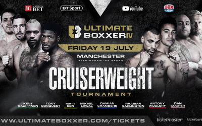 Ultimate Boxxer 4 fight time, date, TV channel, undercard, schedule, venue, betting odds and live stream details