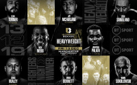 Ultimate Boxxer 6 heavyweights line-up