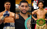 These are the top British welterweight in the current world rankings
