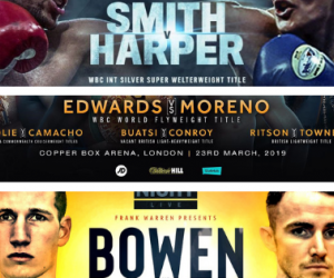 Where to watch British boxing this weekend - televised shows on March 22 & 23