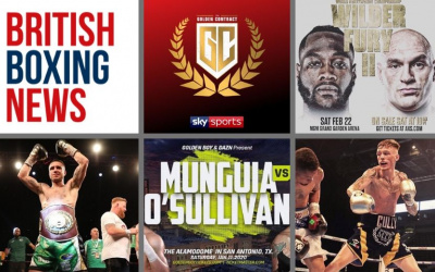 Where to watch British boxing in January and February 2020