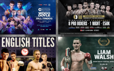 Where to watch British boxing this weekend - televised shows on May 10 & 11